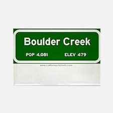 Boulder Creek Rectangle Magnet