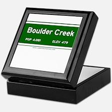 Boulder Creek Keepsake Box