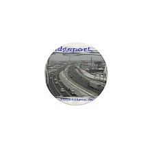 Bridgeport Snow Highway 95 Mini Button (100 pack)