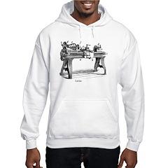 Woodturning Hooded Sweatshirt