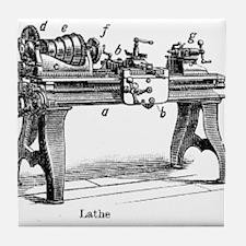 Woodturning Tile Coaster