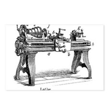 Woodturning Postcards (Package of 8)
