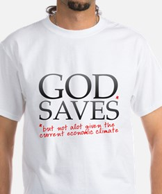 God Saves Recession T-shirt