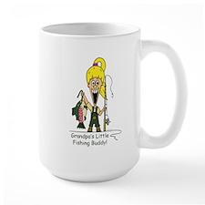 Grandpa's Little Fishing Budd Mug