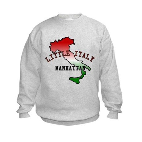 Little Italy Manhattan Kids Sweatshirt