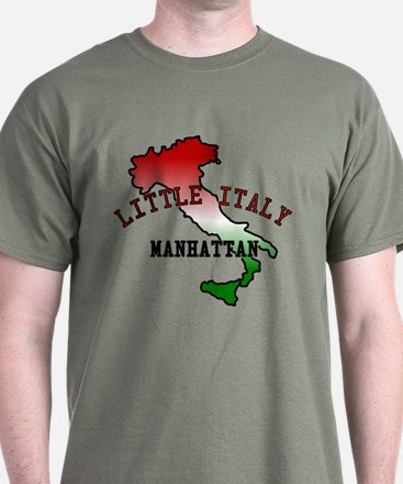 Little Italy Manhattan T-Shirt
