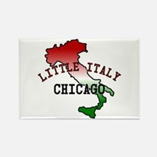 Little Italy Chicago Rectangle Magnet