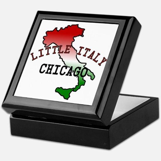 Little Italy Chicago Keepsake Box