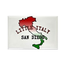 Little Italy San Diego Rectangle Magnet