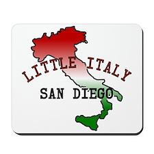 Little Italy San Diego Mousepad