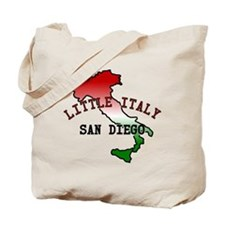 Little Italy San Diego Tote Bag