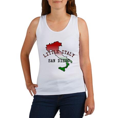 Little Italy San Diego Women's Tank Top