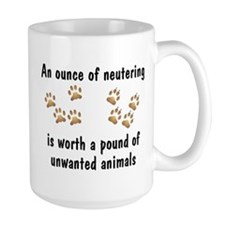 Ounce of Neutering Mug