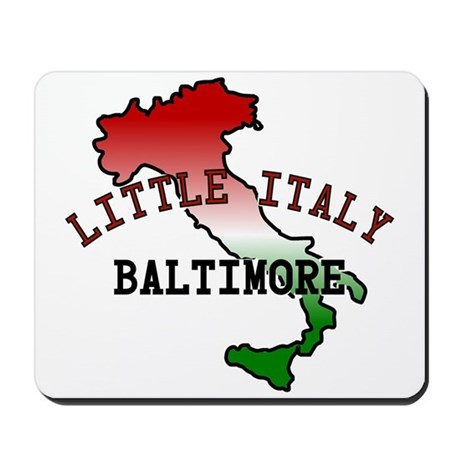 Little Italy Baltimore Mousepad