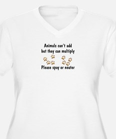 Animals Can't Add T-Shirt
