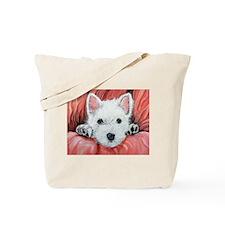 Westie Puppy Love Tote Bag