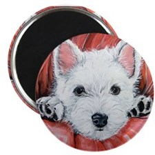 Westie Puppy Love Magnet