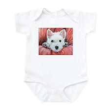 Westie Puppy Love Infant Bodysuit