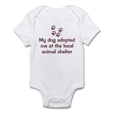 Dog Adopted Me Infant Bodysuit