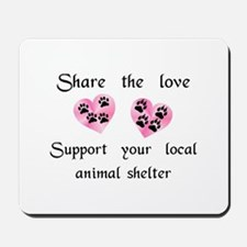 Share The Love Mousepad