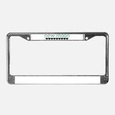 New Moon License Plate Frame