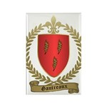 GAUTREAUX Family Crest Rectangle Magnet