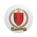 GAUTREAUX Family Crest Ornament (Round)