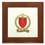 GAUTREAUX Family Crest Framed Tile