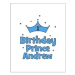 1st Birthday Prince Andrew! Small Poster