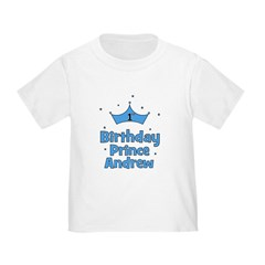 1st Birthday Prince Andrew! T