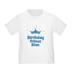 1st Birthday Prince Rian! T
