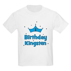 1st Birthday Kingsten! T-Shirt
