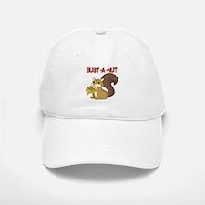 Bust-a-Nut Baseball Baseball Cap