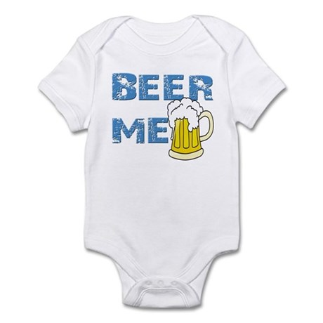 Funny Beer Me Drinking Shirt Infant Bodysuit
