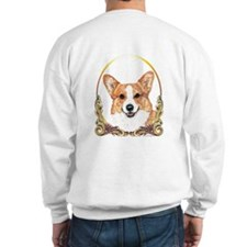 Welsh Corgi Gold Ring Sweatshirt