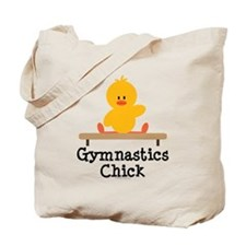 Gymnastics Chick Tote Bag