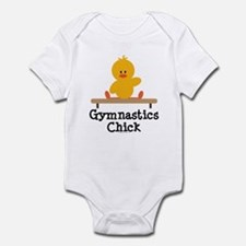 Gymnastics Chick Infant Bodysuit