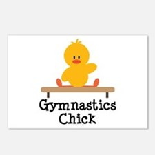 Gymnastics Chick Postcards (Package of 8)