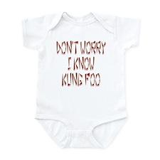 Kung Foo Funny Infant Bodysuit