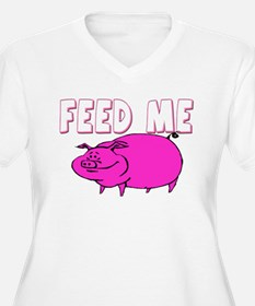 Feed Me Funny Pig T-Shirt