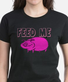 Feed Me Funny Pig Tee