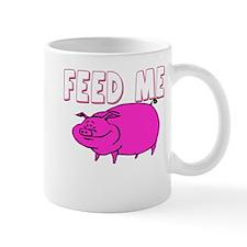 Feed Me Funny Pig Mug