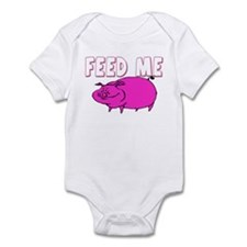 Feed Me Funny Pig Infant Bodysuit