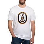USS Bridge AOE 10 US Navy Ship Fitted T-Shirt