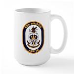 USS Bridge AOE 10 US Navy Ship Large Mug