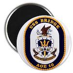 USS Bridge AOE 10 US Navy Ship Magnet