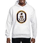 USS Bridge AOE 10 US Navy Ship Hooded Sweatshirt