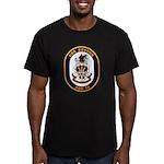 USS Bridge AOE 10 US Navy Ship Men's Fitted T-Shir