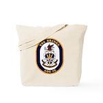 USS Bridge AOE 10 US Navy Ship Tote Bag