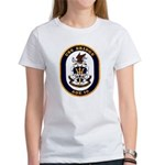 USS Bridge AOE 10 US Navy Ship Women's T-Shirt
